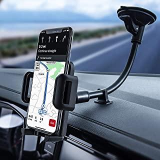 Soporte M/óvil Coche Universal Gravedad con 360 Grados Rotaci/ón Porta Movil Coche para Rejillas del Aire de Coche para iPhone Android Samsung Huawei GPS Dispositivo etc de 4.7 a 6.7 Pulgadas Negro