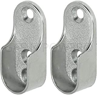 soporte en forma de U barra de tracci/ón de la cabeza soporte de barra de cortina de ducha soporte de asiento de brida compuesto de acero inoxidable de alta calidad Soporte de tubo de armario